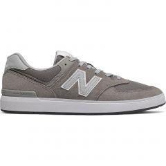 New Balance Mens AM 574 Skate Trainers - Grey