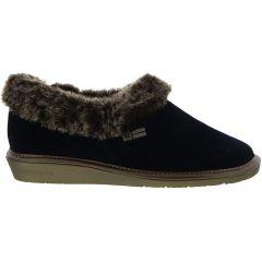 Nordikas Womens 1358 Top Line Outdoor Indoor Sole Bootie Slippers - Alfelpado Marino Blue