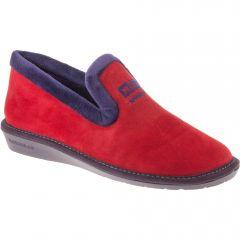 Nordikas Womens Nicola 305 Outdoor Indoor Sole Wedge Slippers - Cereza Red