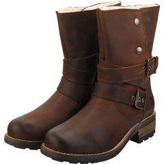 Oak & Hyde Womens Bridge Demi Boots - Cesar Dark Brown