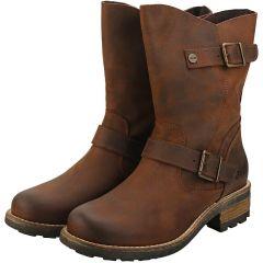 Oak & Hyde Womens Crest Demi Boots - Cesar Brown