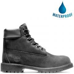 Timberland Kids 6 Inch Premium Waterproof Boots - 12907 - Black
