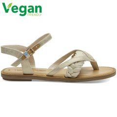Toms Womens Lexie Vegan Sandals - Natural Shimmer