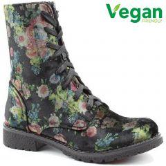 Heavenly Feet Womens Chloe Boots - Multi Floral