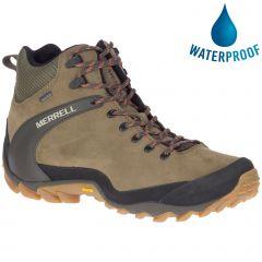 Merrell Mens Cham 8 Ltr Mid GTX Waterproof Boots - Olive