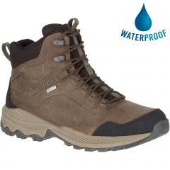 Merrell Mens Forestbound Mid Waterproof Walking Boots - Cloudy