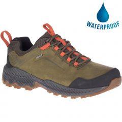 Merrell Mens Forestbound Waterproof Shoes - Dark Olive