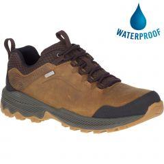 Merrell Mens Forestbound Waterproof Shoes - Merrell Tan