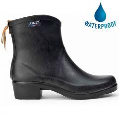 Aigle Womens Miss Juliette Bottillon 2 Ankle Wellington Boots