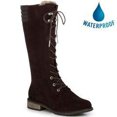 EMU Australia Biricet Hi Tall Waterproof Boots - Espresso