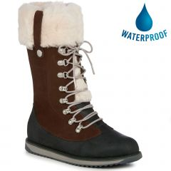 EMU Australia Womens Orica Hi Waterproof Boots - Oak