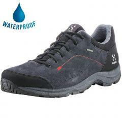Haglofs Mens Krusa GT Waterproof GTX Walking Shoes - Barque True Black