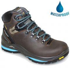 Grisport Womens Lady Glide Waterproof Walking Boots - Brown