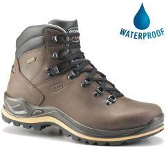 Grisport Mens Aztec WIDE FIT Waterproof Walking Boots - Crazy Horse Brown
