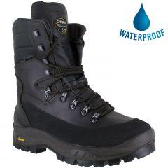 Grisport Mens Gamekeeper Waterproof Tall Walking Sporting Boots - Brown