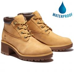Timberland Womens Kinsley Nellie Chukka Waterproof Ankle Boot - Wheat - A2CJ7