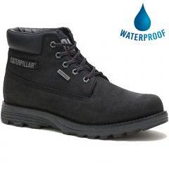 Caterpillar Mens Cat Founder WP TX Waterproof Ankle Boot - Black