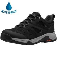Helly Hansen Mens Switchback Trail Low HT Waterproof Walking Shoes - Black Ebony