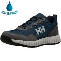 Helly Hansen Mens Monashee ULLR Low HT Waterproof Walking Trainers - Slate Charcoal Electric Blue