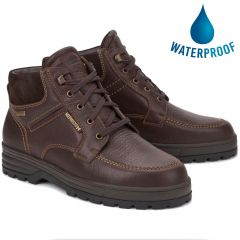 Mephisto Mens Jim GT Hudson GTX Waterproof Ankle Boots - Chestnut