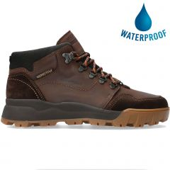 Mephisto Mens Wayne Velours  GTX Waterproof Ankle Boots - Chestnut