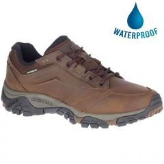 Merrell Mens Moab Adventure Lace Waterproof Shoe - Dark Earth