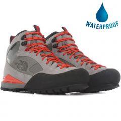 North Face Mens Verto SK3 III Futurelight Waterproof Walking Boots - Q Silver Grey Flare