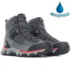 North Face Mens Crestvale Futurelight Waterproof Walking Boots - Zinc Grey TNF Black