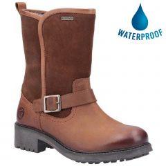 Cotswold Womens Randwick Waterproof Boot - Cognac