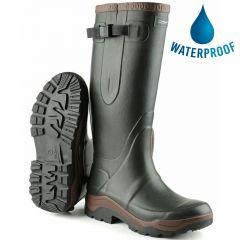 Cotswold Mens Compass Neoprene Wellington Boots - Green