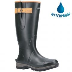 Cotswold Mens Stratus Neoprene Wellington Boots - Green