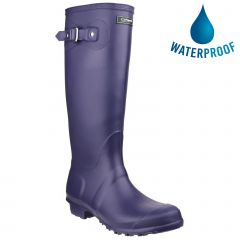 Cotswold Womens Sandringham Original Tall Wellington Boots - Purple