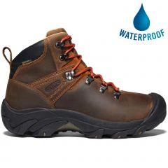 Keen Mens Pyrenees Waterproof Walking Boots - Syrup