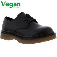 Heavenly Feet Womens Liberty 3 Eye Shoe - Black