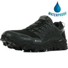 Asics Mens Fuji Trabuco 7 GTX Waterproof Trail Running Shoes - Black Dark Grey