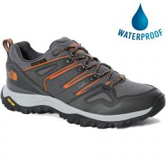 North Face Mens Hedgehog Futurelight Waterproof Walking Trainers - Zinc Grey TNF Black