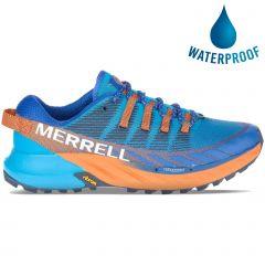Merrell Mens Agility Peak 4 Vegan Trail Running Shoes - Tahoe