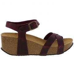 Plakton Womens Sitges Hi Sandals - Burdeos 546 Apure Purple