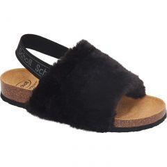 Scholl Womens Amabel Slipper Sandals - Black
