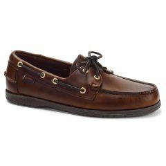 Sebago Mens Endeavor Leather Boat Deck Shoes