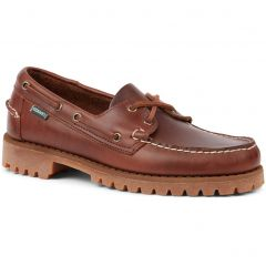 Sebago Mens Portland Ranger Boat Shoes - Waxy Brown Gum