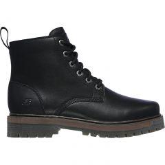 Skechers Mens Alley Cats Talgen 6 Eye Boots - Black