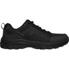 Skechers Mens Fannter SR Work Trainers Shoes - Black