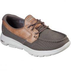 Skechers Mens Go Walk 5 Krane Canvas Shoes - Khaki