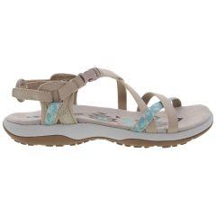 Skechers Womens Reggae Slim Vacay Adjustable Walking Sandals - Taupe