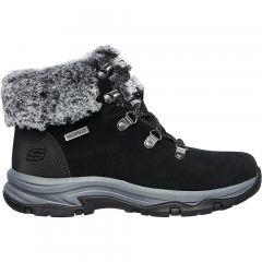 Skechers Womens Trego Falls Finest Waterproof Ankle Boots - Black