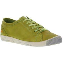Softinos Womens Isla Trainers - Apple Green