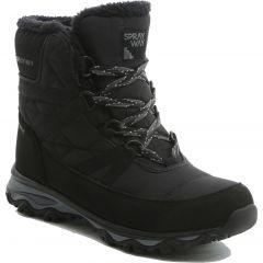 Sprayway Womens Eureka Mid Waterproof Winter Walking Boots - Black