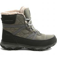 Sprayway Womens Eureka Mid Waterproof Winter Walking Boots - Olive