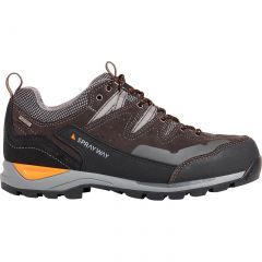 Sprayway Mens Oxna Low Waterproof Walking Shoes - Charcoal